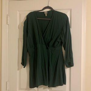 ASOS green dress